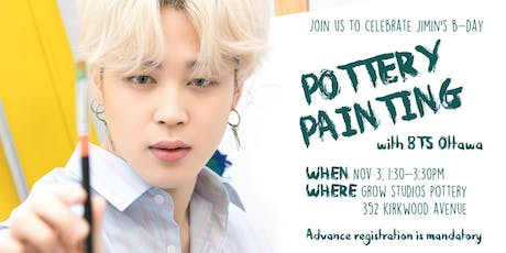 Happy Jimin Day - Pottery Painting Event tickets