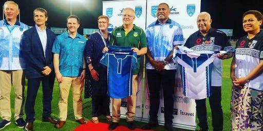 Launch of the Kaiviti Silktails Rugby League, pre event to the World Downer Nines Tournament