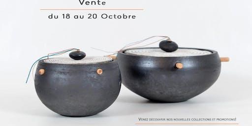 Vente d'objets en céramique