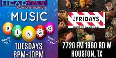 Music Bingo at TGI Fridays - Houston, TX