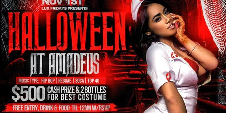 Halloween Party @ Amadeus Nightclub  tickets