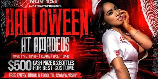 Halloween Party @ Amadeus Nightclub