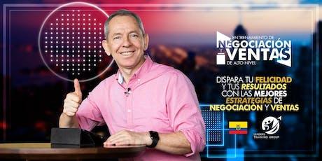 NEGOCIACIÓN Y VENTAS DE ALTO IMPACTO-QUITO boletos