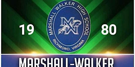 40th Class Reunion-Marshall Walker Class of 1980 tickets