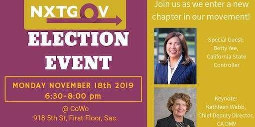 NxtGov 2019 Election Event