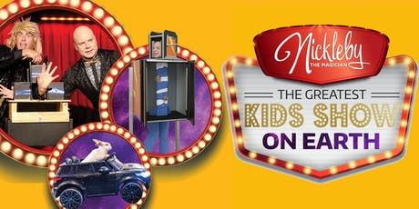 "Nickleby The Magician - Tweed Heads ""The Greatest Kids Show On Earth"" tickets"