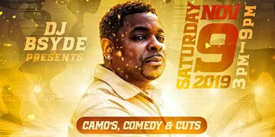 Camo's, Comedy & Cuts  BSYDE AUDIO Client Appreciation Party