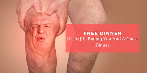 Solving Pain Naturally| FREE Dinner Event with Dr. Jeff Chamberlain, DC