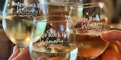Sip & Savor Sundays at Ledge Rock Hill Winery: $5 Wine Tastings!