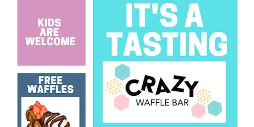 CRAZY WAFFLE TASTING by Crazy Waffle Bar, LLC
