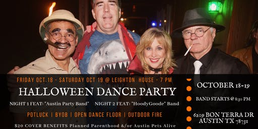 Halloween Dance Party Benefit with Potluck!