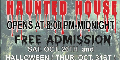A Haunted Halloween - A Local Haunted House