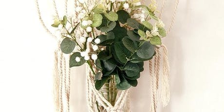 High Tea and Macrame Wall Plant Hanger Workshop tickets