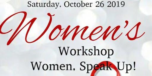 Women, Speak Up