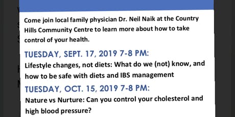 Your Health Made Simple, Health Information Session tickets