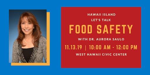 Hawaii Island Food Safety Coffee Hour