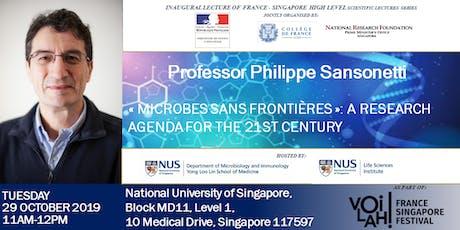 Philippe Sansonetti Lecture tickets