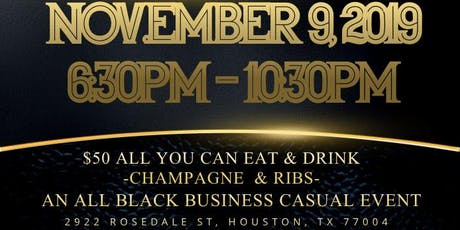 Champagne & Ribs tickets