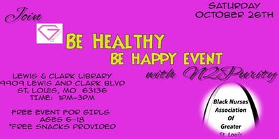 Girlz 4 Life Be Happy Be Healthy Event!