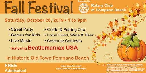 Pompano Beach Fall Festival