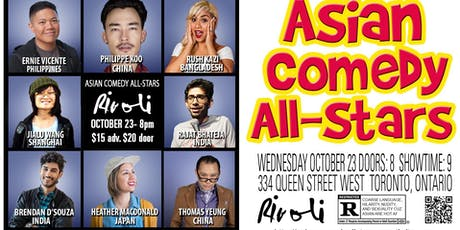 Asian Comedy All-Stars with headliner Ernie Vicente! tickets