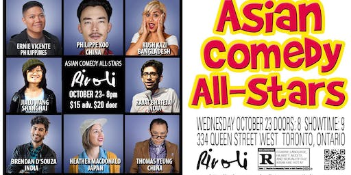 Asian Comedy All-Stars with headliner Ernie Vicente!