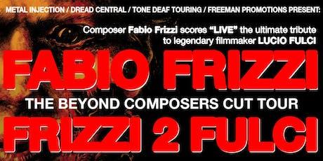 Fabio Frizzi tickets