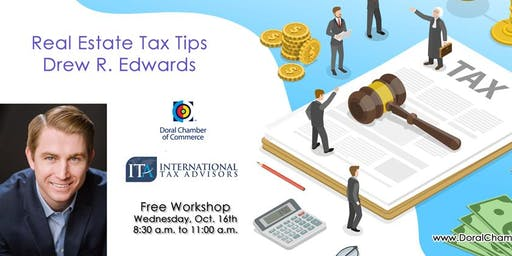 Real Estate Tax Tips with Drew Edwards