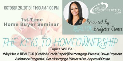 Free Homebuyer Seminar -The Keys to Homeownership
