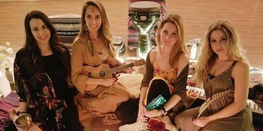 Sacred Song Soundbath, Reiki and Ecstatic Dance with Shamanitas