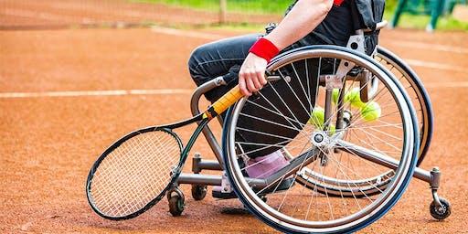 Wheelchair Tennis at Manning Tennis Club