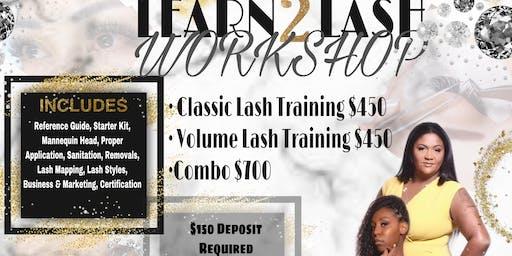 Learn 2 Lash Workshop