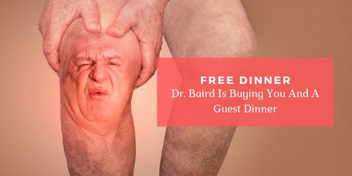 Stem Cell RAGE | FREE Dinner Event with Dr. John Baird, MD