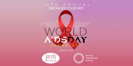 Stronger Together: World AIDS Day Breakfast tickets