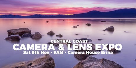 Central Coast Camera & Lens Expo - John Ralph's Camera House tickets