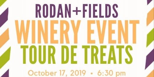 Rodan and Fields Winery Event Tour De Treats