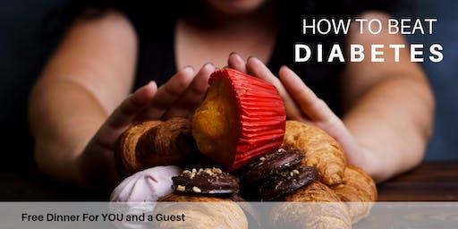 Beat Diabetes | FREE Dinner Event with Dr. Blake Livingood, DNM, DC