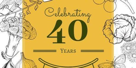Hunter Organic Growers Society 40th Birthday Celebration tickets