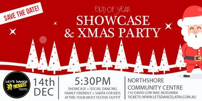 Let's Dance Latin End of Year Showcase & Xmas Party