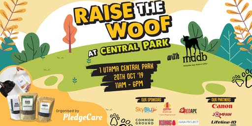 PledgeCare x MDDB: Raise the Woof at Central Park