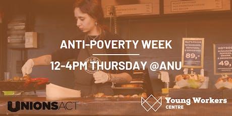 Anti-Poverty Week @ANU tickets