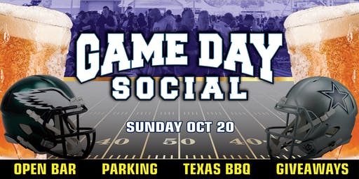 Game Day Social (Eagles at Cowboys)