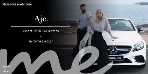 Mercedes me x Fashion - Aje.