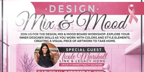 DESIGN, MIX & MOOD: PINK EDITION tickets