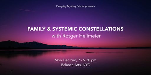 Family and Systemic Constellations with Rotger Heilmeier