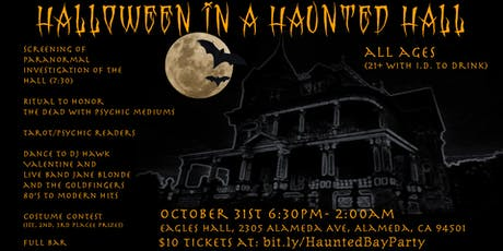 Halloween in a Haunted Hall! tickets