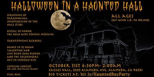 Halloween in a Haunted Hall!
