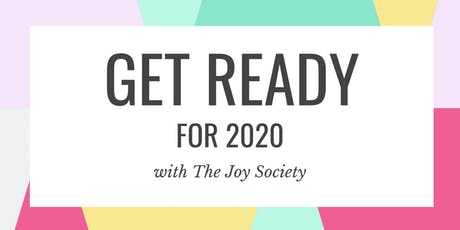 Get Ready for More Joy in 2020 tickets