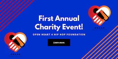 Open Heart 4 Hip Hop Charity Event