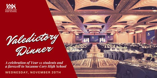 Year 12 Valedictory Dinner | Suzanne Cory High School | 2019